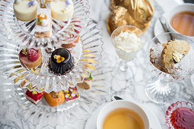 Afternoon Tea at Baccarat New York