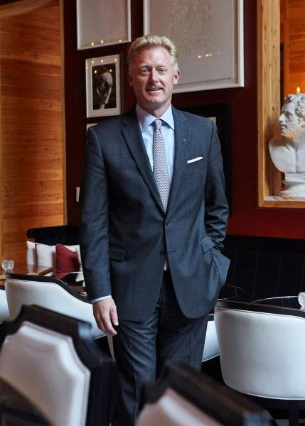 Hermann W. Elger, Managing Director and COO at Baccarat Hotel New York