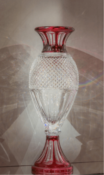 The breathtaking Harcourt Red Grand Genre vase.