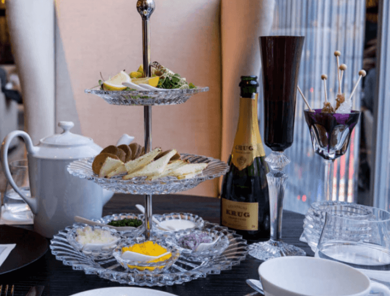 New York Reopens: Tea for Two at the Baccarat Hotel