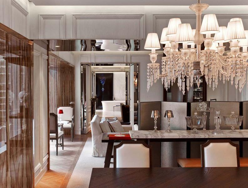 baccarat suite living area