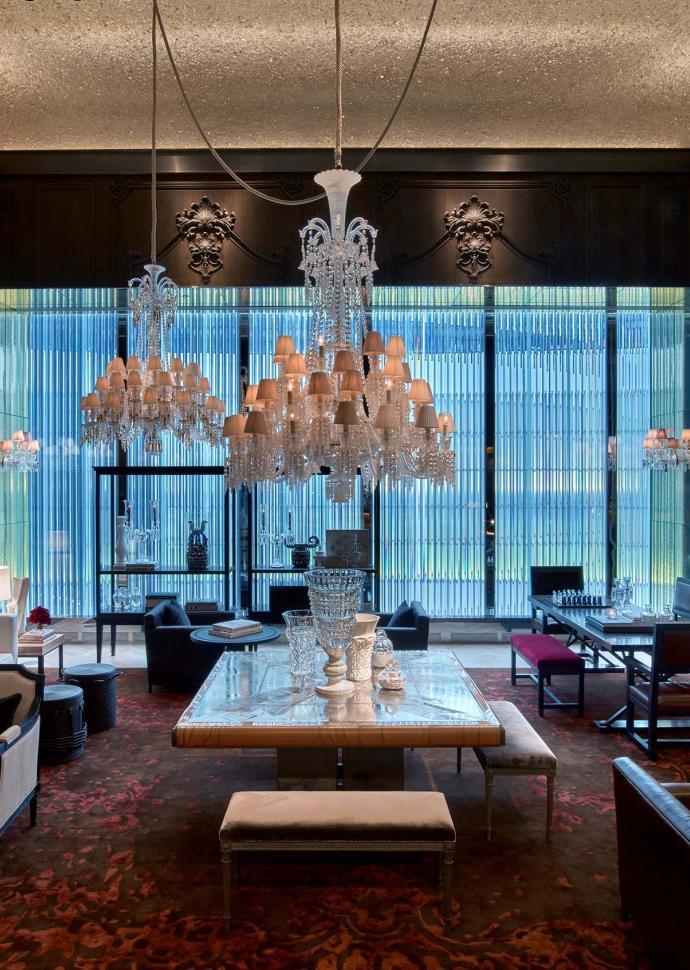 baccarat hotel lobby