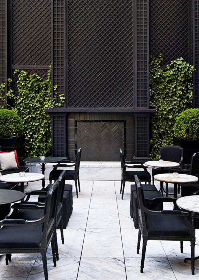 The Terrace | Baccarat Hotel New York