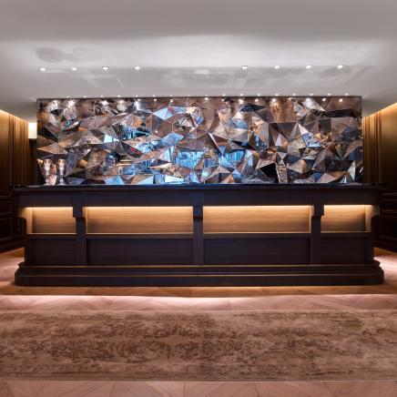 Baccarat hotel interior