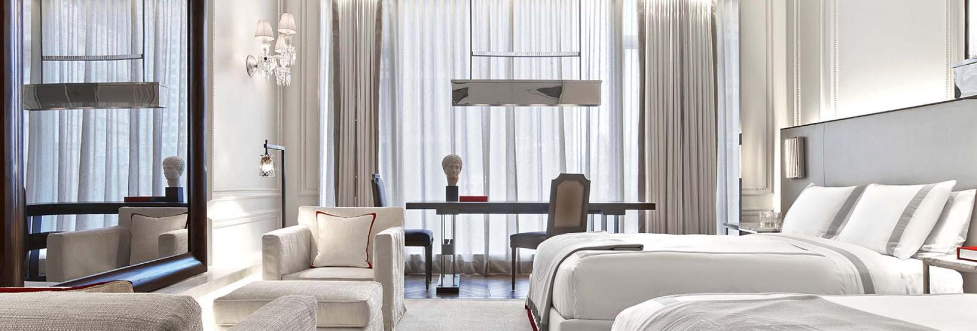 The Grand Classic Double guest suite at Baccarat hotel